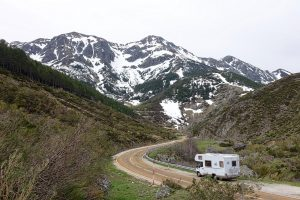 When it gets hot, move to higher elevations to keep your RV cool for your pets. TiresAndTails.com