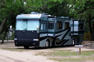 When the weather heats up, cover your RV windows to keep your pets cool. TiresAndTails.com