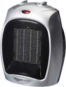 AmazonBasics 1500 Watt Ceramic Space Heater